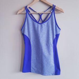 Tuff athletics | spaghetti racerback workout tank